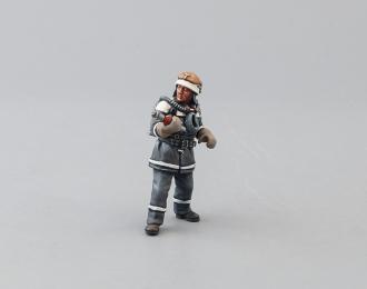 Фигурка Пожарный, ствольщик (вариант 1)