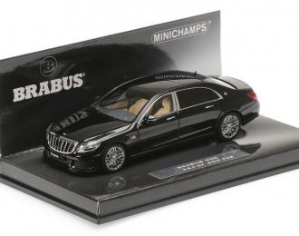 Brabus 900 AUF Basis MERCEDES-BENZ Maybach S 600 (2015), black
