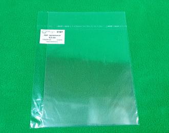 ПЭТ прозрачный лист 0,3 мм - 175х250 мм - 3 шт