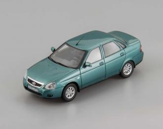 (Уценка!) ВАЗ 2170 Седан (2015), зелено-синий мет.