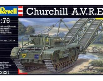 Сборная модель Churchill A.V.R.E.