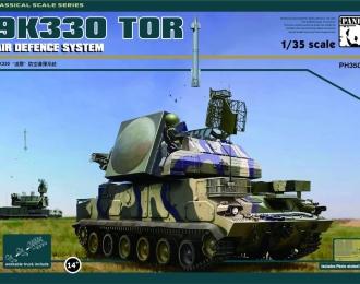 Сборная модель Российский ЗРК ТОР-М1