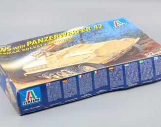 Сборная модель SWS with Panzerwerfer 42 German Rocket Launcher