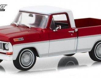 FORD F-100 пикап 1970 Candy Apple Red and White