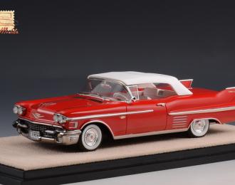 CADILLAC Series 62 Convertible (закрытый) 1958 Red