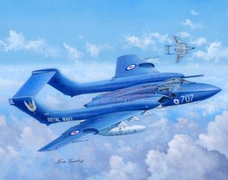 Сборная модель Британский истребитель de Havilland DH.110 Sea Vixen Faw.2