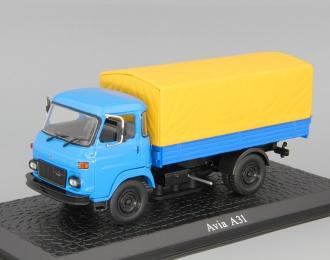 AVIA A31, серия грузовиков от Atlas Verlag, синий / желтый