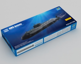 Сборная модель Британская подводная лодка HMS Astute (2007г.)