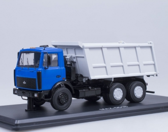 МАЗ 5516 самосвал, синий / серый