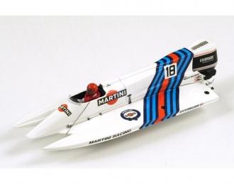 MARTINI F1 Powerboat 1984, white