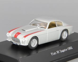 FIAT 8V Zagato (1952), silver / red