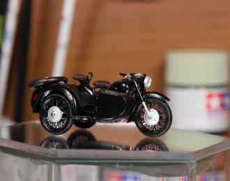 Днепр К-650 (МТ-8) мотоцикл с коляской (чёрный)