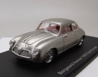 BORGWARD Hansa 1500 Sportcoupe 1954 Silver