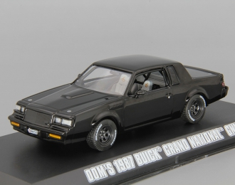 "BUICK Grand National GNX 1987 ""Fast & Furious"" (из к/ф ""Форсаж IV""), black"