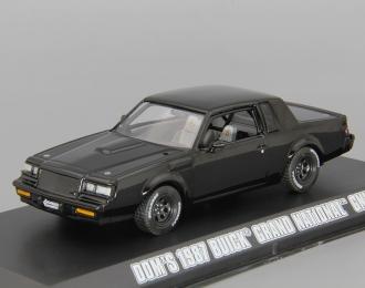 "BUICK Grand National GNX 1987 ""Fast & Furious"" (из к/ф ""Форсаж IV""), black"