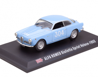 ALFA ROMEO Giulietta Sprint Veloce #304 Mille Miglia 1955