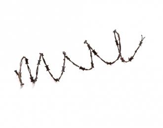 Проволока колючая, размер M