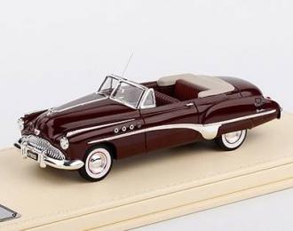 Buick Roadmaster Convertible 1949 (maroon)
