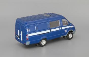 Горький 2705 Спецсвязь, Автомобиль на службе 19, синий