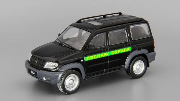 УАЗ Патриот Лесная охрана, Автомобиль на службе 60, черный