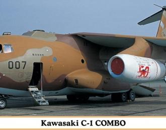 Сборная модель KAWASAKI C-1 COMBO (две модели в коробке)