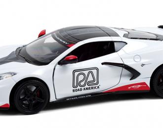 CHEVROLET Corvette C8 Stingray Coupe Road America Official Pace Car 2020