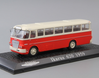 IKARUS 620 (1959), red / white