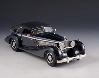 MAYBACH Zeppelin DS8 Cabriolet Wagner-Spohn (закрытый) 1933 Black