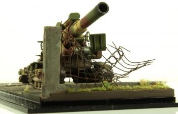 БР-5 -280-мм мортира (городская композиция)