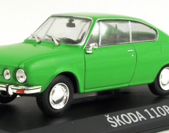 SKODA 110R Coupe, green