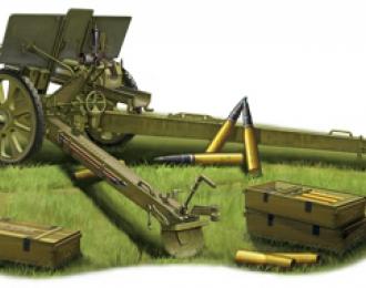 Сборная модель Soviet 76.2mm M1936/F22/ Divisional Gun