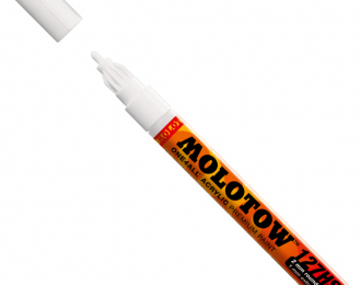 Маркер MOLOTOW 127HS ONE4ALL 160 Белый 2мм