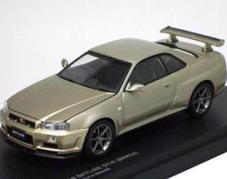 NISSAN SKYLINE GT-R (R34) M-Spec, Brass