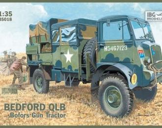 Сборная модель Британский артиллерийский тягач Bedford QLB 4x4