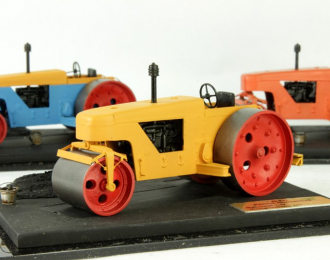 Каток дорожный Д-211 (желтый)