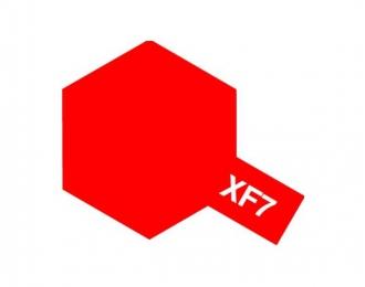 XF-7 Flat Red (краска эмалевая, красный матовый), 10мл.