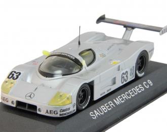 (Уценка!) MERCEDES-BENZ Sauber C9 #63 World Champion Silberpfeil (1989), silver