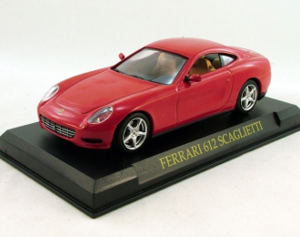 FERRARI 612 Scaglietti, Ferrari Collection 37, red