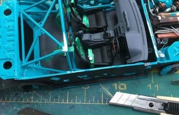 Набор для доработки Интерьер без обшивки+капот для Silvia S15 TAMIYA