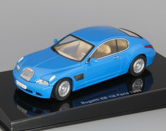BUGATTI EB 118 Paris (1998),  french racing blue