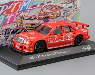 MERCEDES-BENZ 190 E Kl.1 DTM AMG Junior Team S. Grau #21 (1994), red