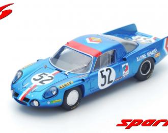 Alpine A210 #52 10th Le Mans 1968 J.-L. Thérier - B. Tramont
