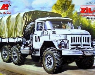 Сборная модель ЗИL-131 Армейский грузовой автомобиль