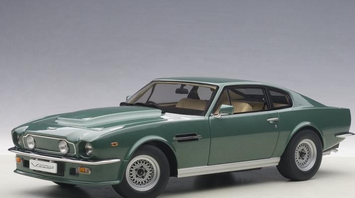 Aston Martin V8 Vantage 1985 (forrest green)