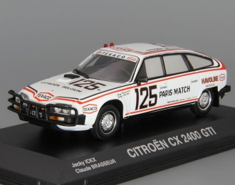CITROEN CX 2400 GTI #125 Dakar (1981), white