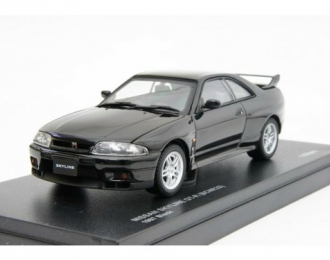 NISSAN Skyline GT-R (BCNR33) 1997 [с открывающимся капотом], black