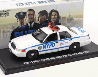 "FORD Crown Victoria Police Interceptor ""New York City Police Department"" NYPD 2001"
