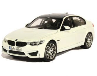BMW M3 Berline Pack Competition F80 (2016), mineral white