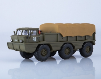 Армейский вездеход-амфибия ЗИL-132П, хаки