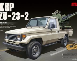 Сборная модель Пикап с ЗУ-23-2